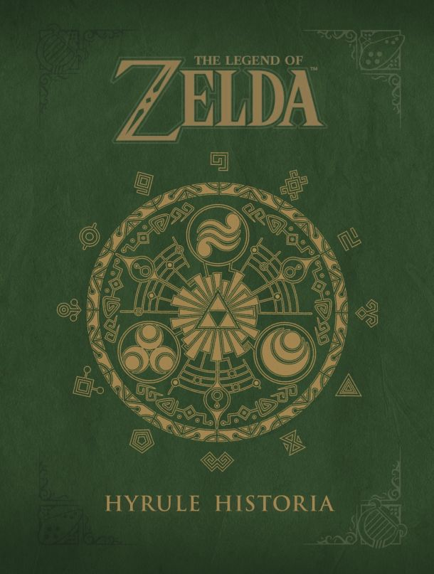 New Hyrule Historia Cover