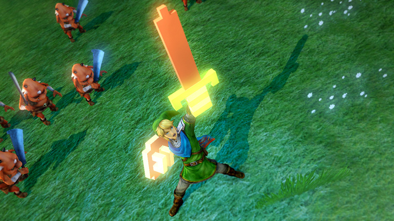 Hyrule Warriors 8-bit Sword
