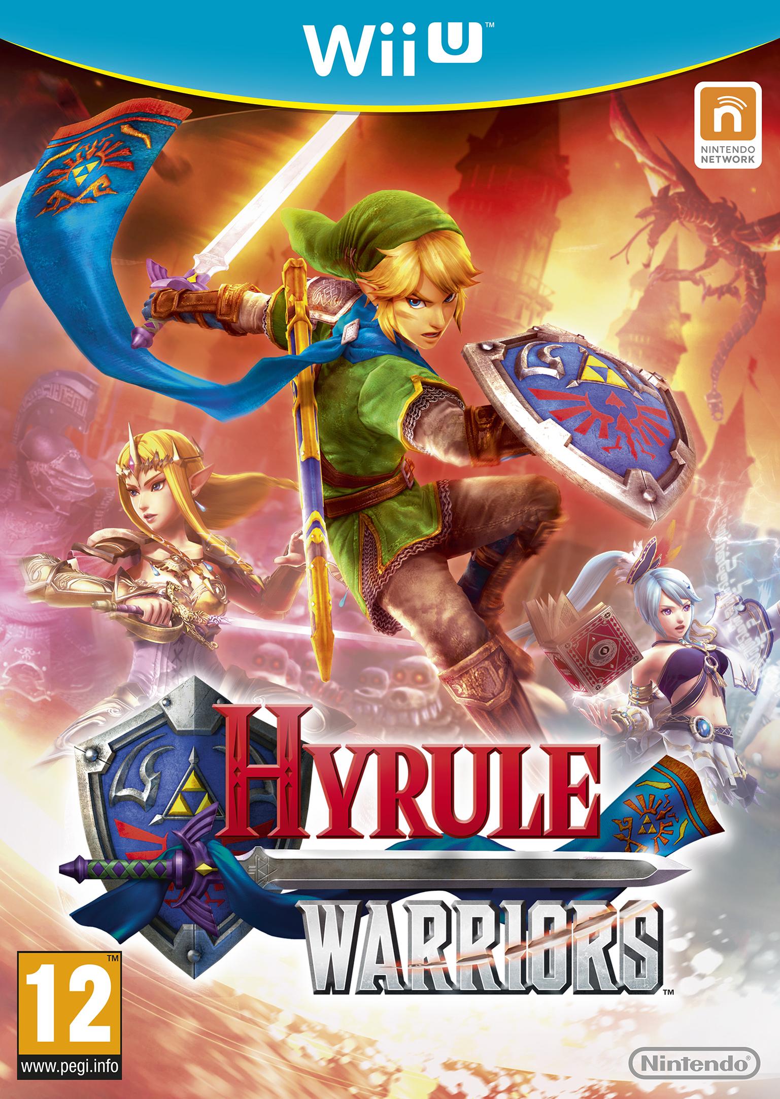 Hyrule Warriors Box Art