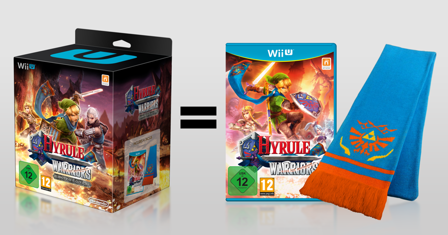 European Hyrule Warriors Limited Edition