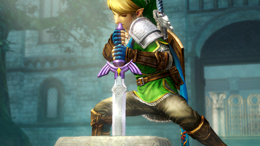 Hyrule Warriors Link Screenshot