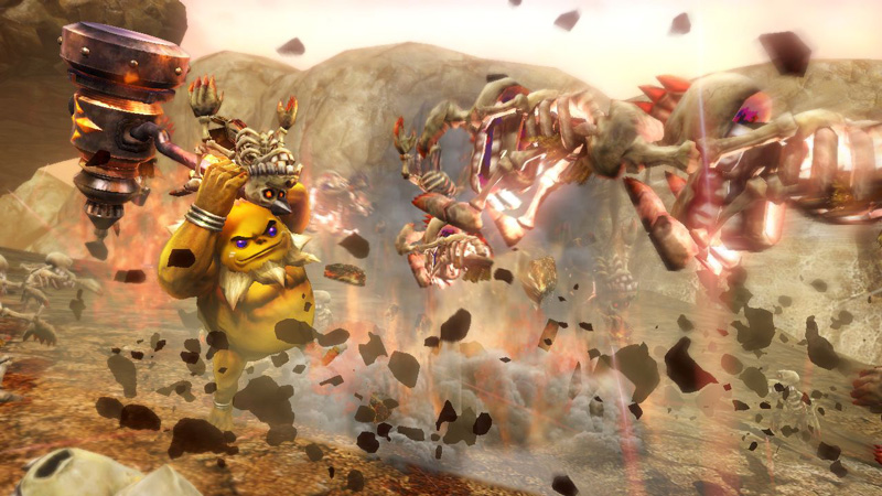Hyrule Warriors Darunia Screenshot