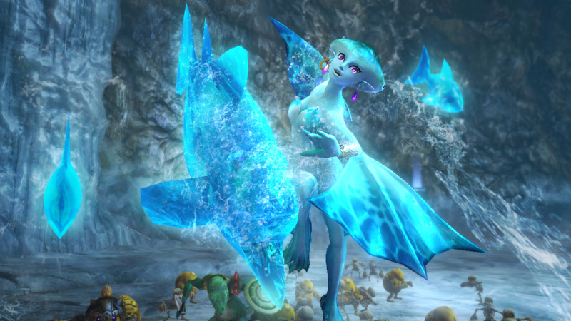 Hyrule Warriors Ruto Screenshot