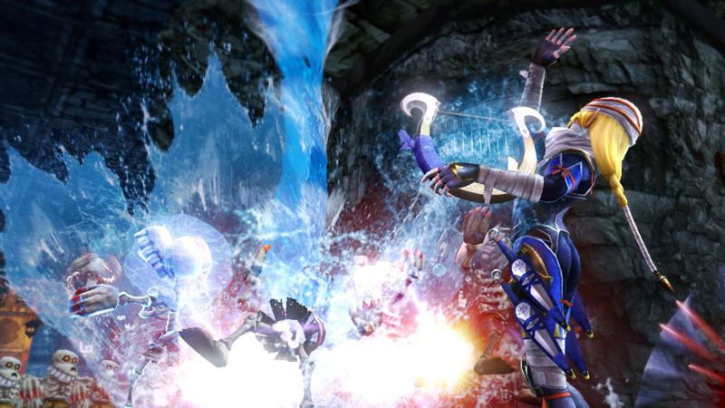 Hyrule Warriors Sheik Screenshot