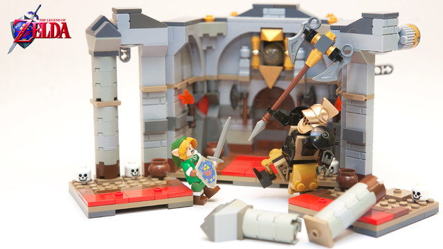 Lego Zelda Iron Knuckle Encounter