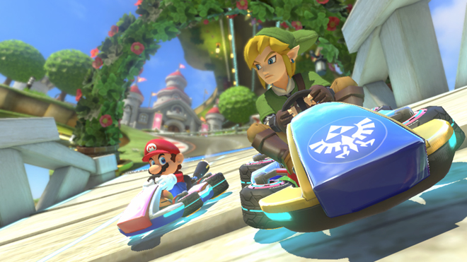 Mario Kart 8 Add On Content - Link