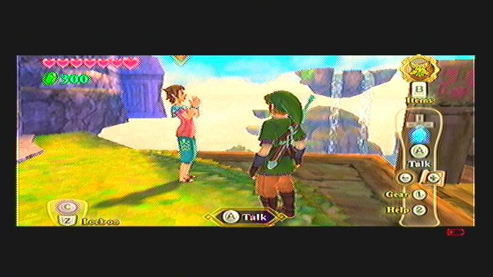 Skyward Sword Missing Girl