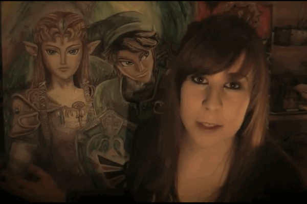 Fan-Art: The Legend of Zelda time-lapse painting