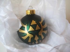 Legend of Zelda Glass Ornament