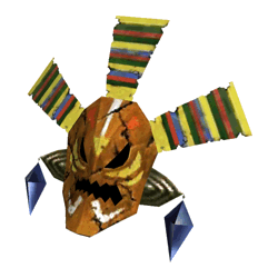 Majora's Mask 3D Art
