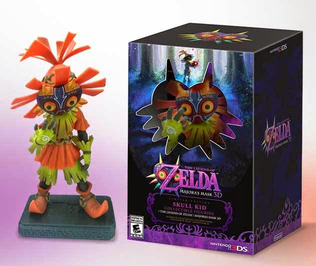 Majora's Mask 3D Limited Edition Statue