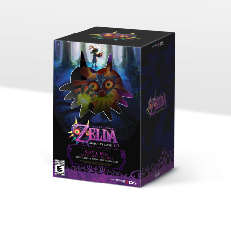Majora's Mask 3D Limited Edition North America
