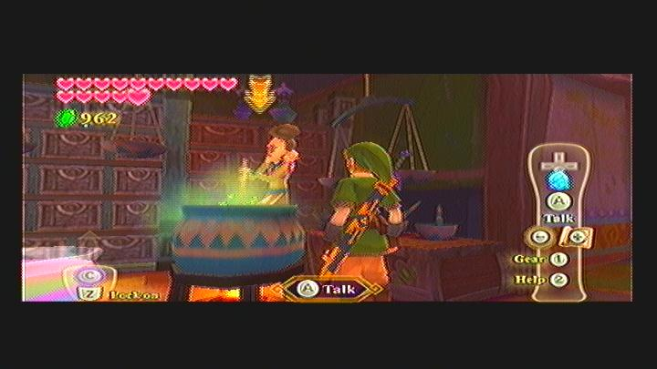 Skyward Sword Missing Baby Rattle Quest