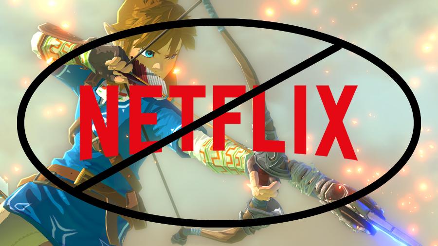 Netflix Zelda Incorrect Information