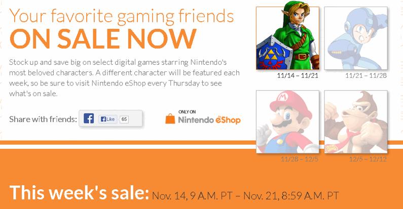 Nintendo eShop Deals