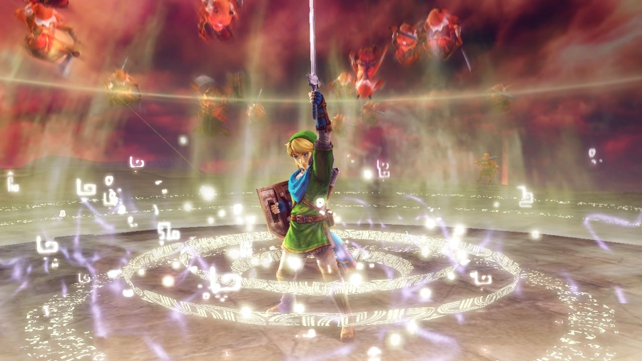 Hyrule Warriors, the imaginative upcoming game for the Wii U console, combines the action-packed gam ...