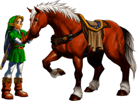 Ocarina of Time 3D Epona Guide