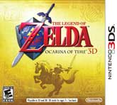 Ocarina of Time 3D Box Art