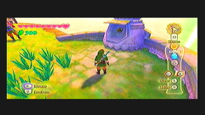 Skyward Sword Missing Windmill Propeller