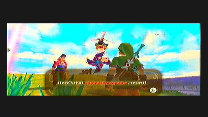 Skyward Sword Missing Propeller