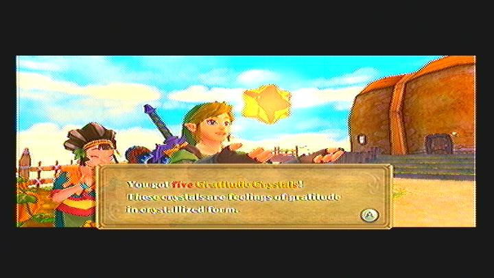 Skyward Sword Gratitude Crystals