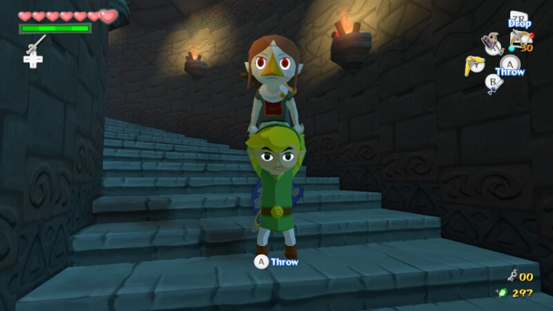 Selfies in The Wind Waker HD