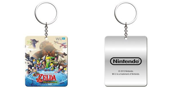 The Wind Waker HD Keyring