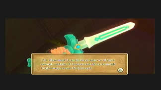 Skyward Sword Gear Goddess Longsword
