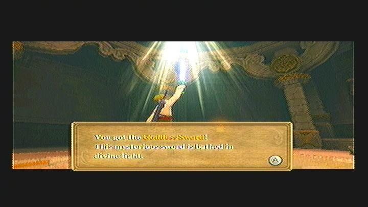Skyward Sword Gear Goddess Sword
