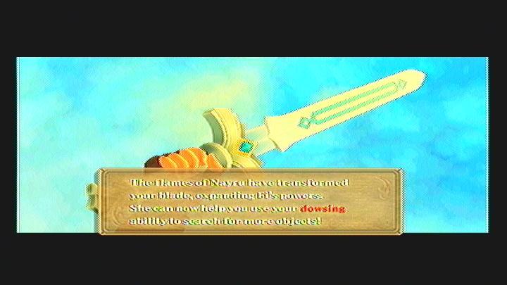 Skyward Sword Gear Goddess White Sword