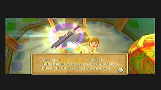 Skyward Sword Gear Practice Sword