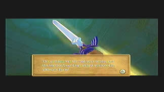 Skyward Sword Gear True Master Sword