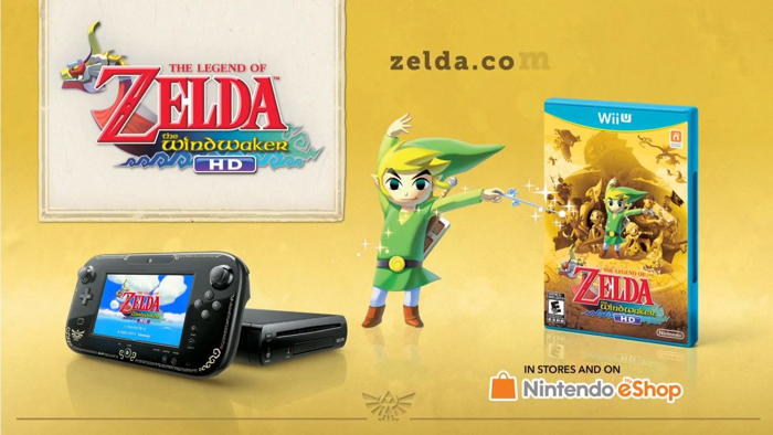 The Wind Waker HD Wii U Bundle Leaked