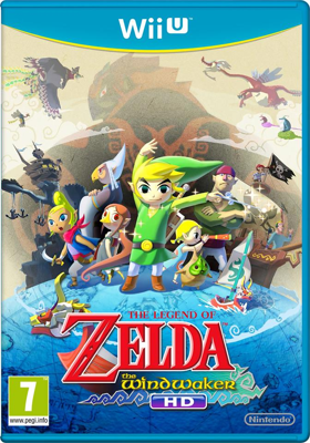 The Wind Waker HD Europe Box Art