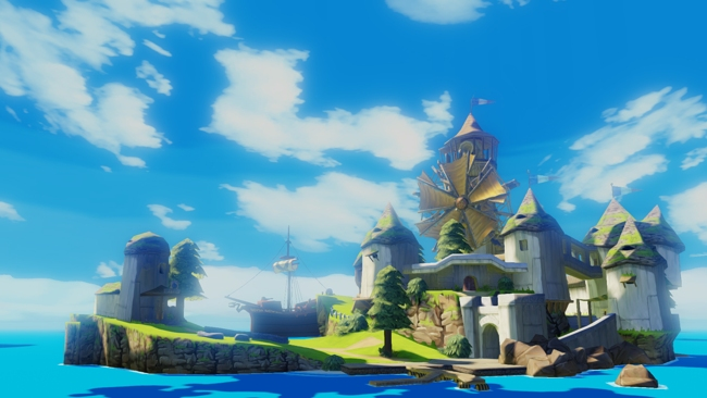 The Wind Waker HD Includes Boat Speed-up Button