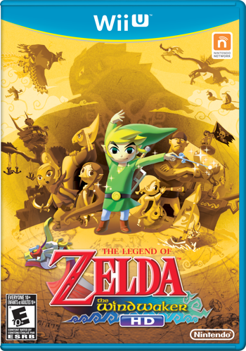 The Wind Waker HD North American Box Art