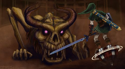 Twilight Princess Stallord - Fan Art