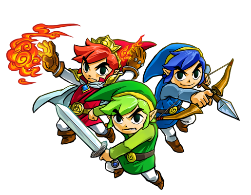 Tri Force Heroes Artwork