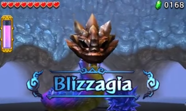 Tri Force Heroes Boss: Blizzagia