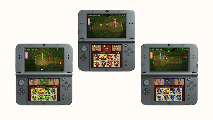 Tri Force Heroes Screenshots