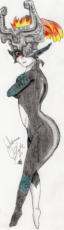 Fan Art: Twilight Princess Midna