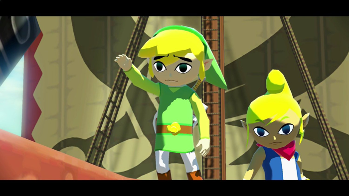 Screenshot of The Wind Waker HD