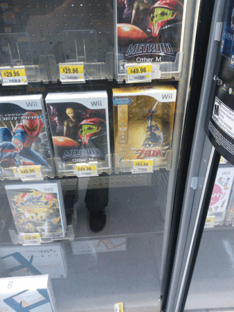 Skyward Sword Bundle in Stock at Wal-Mart?
