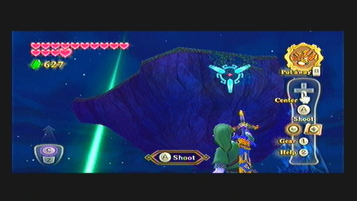 Skyward Sword Waterfall Gratitude Crystal