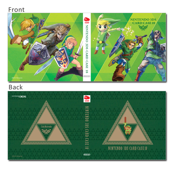 Zelda 3DS Game Card Case