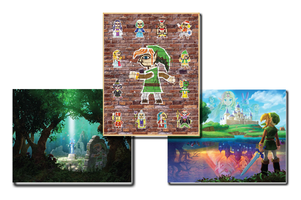 Club Nintendo A Link Between Worlds Poster Set