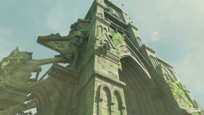 New Trailer Shown for Zelda: Breath of the Wild