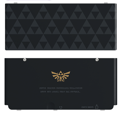 Zelda New 3DS Faceplates