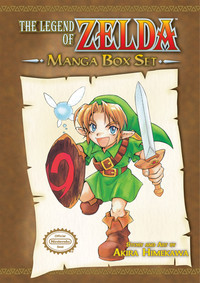 Legend of Zelda Manga Boxset