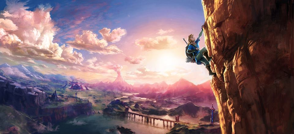 Rumor: New Zelda Wii U Artwork Hints at Possible Rock Climbing Mechanic